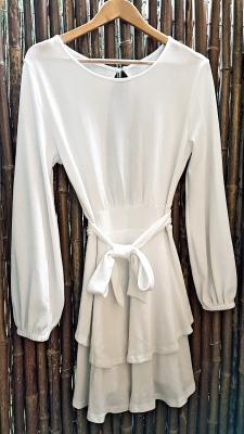 Kleid wollweiß