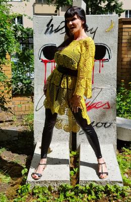 VOKUHILA Crochet Dress